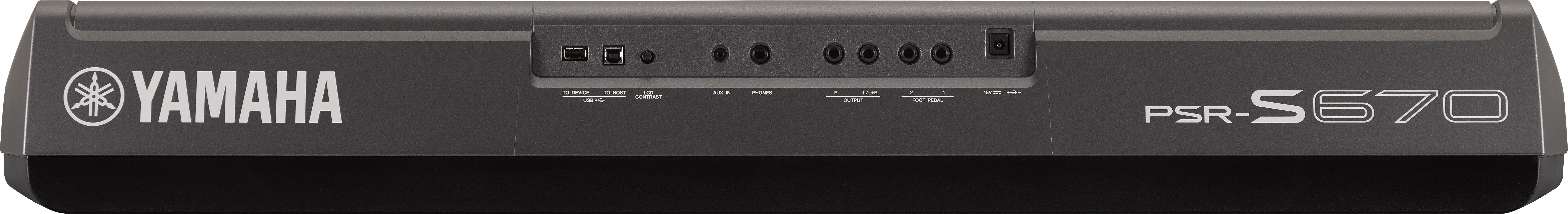PSR-S670 - Videos - Digital and Arranger Workstations - Keyboard