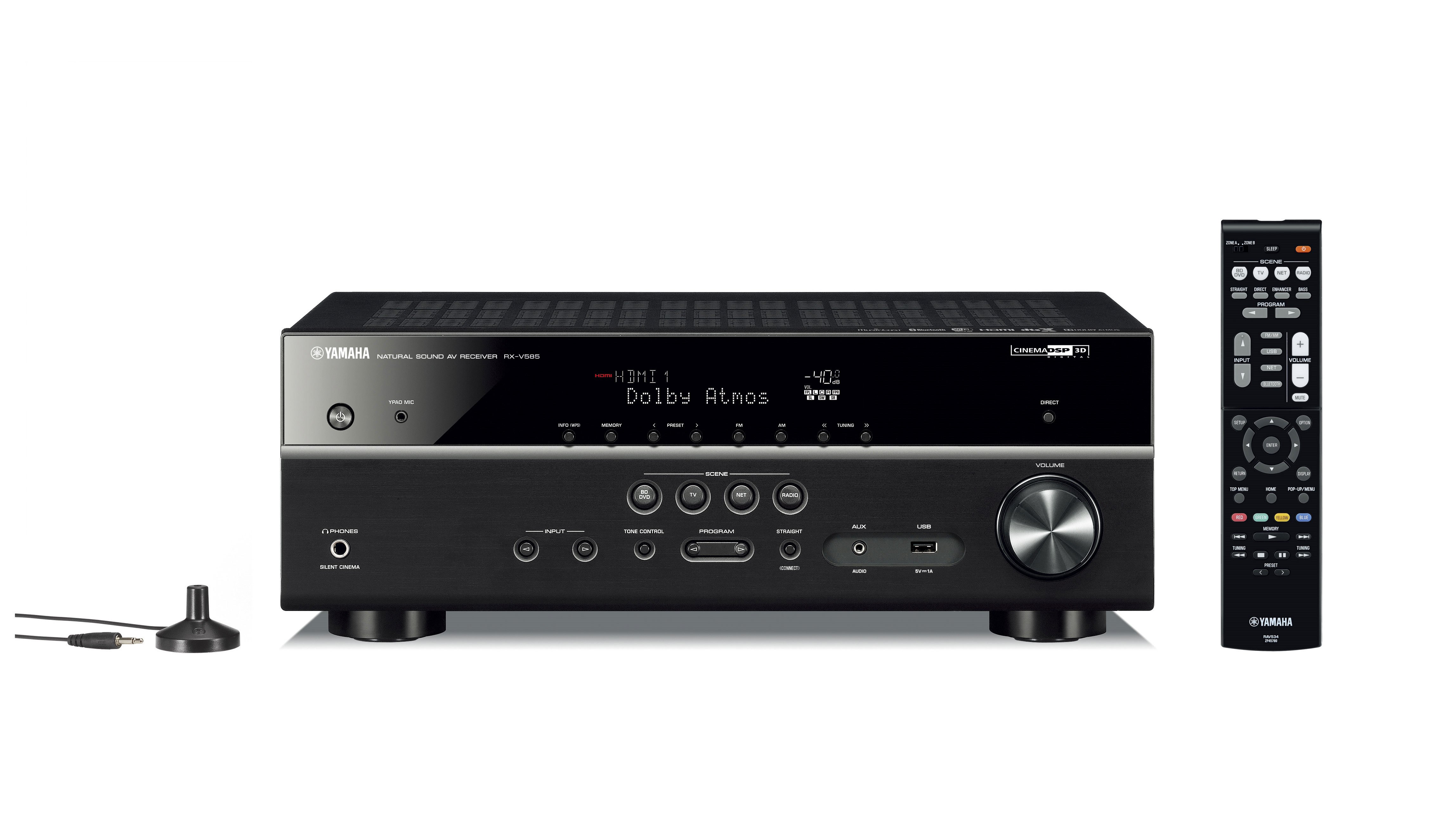 RX-V585 - Support - AV Receivers - Audio & Visual - Products