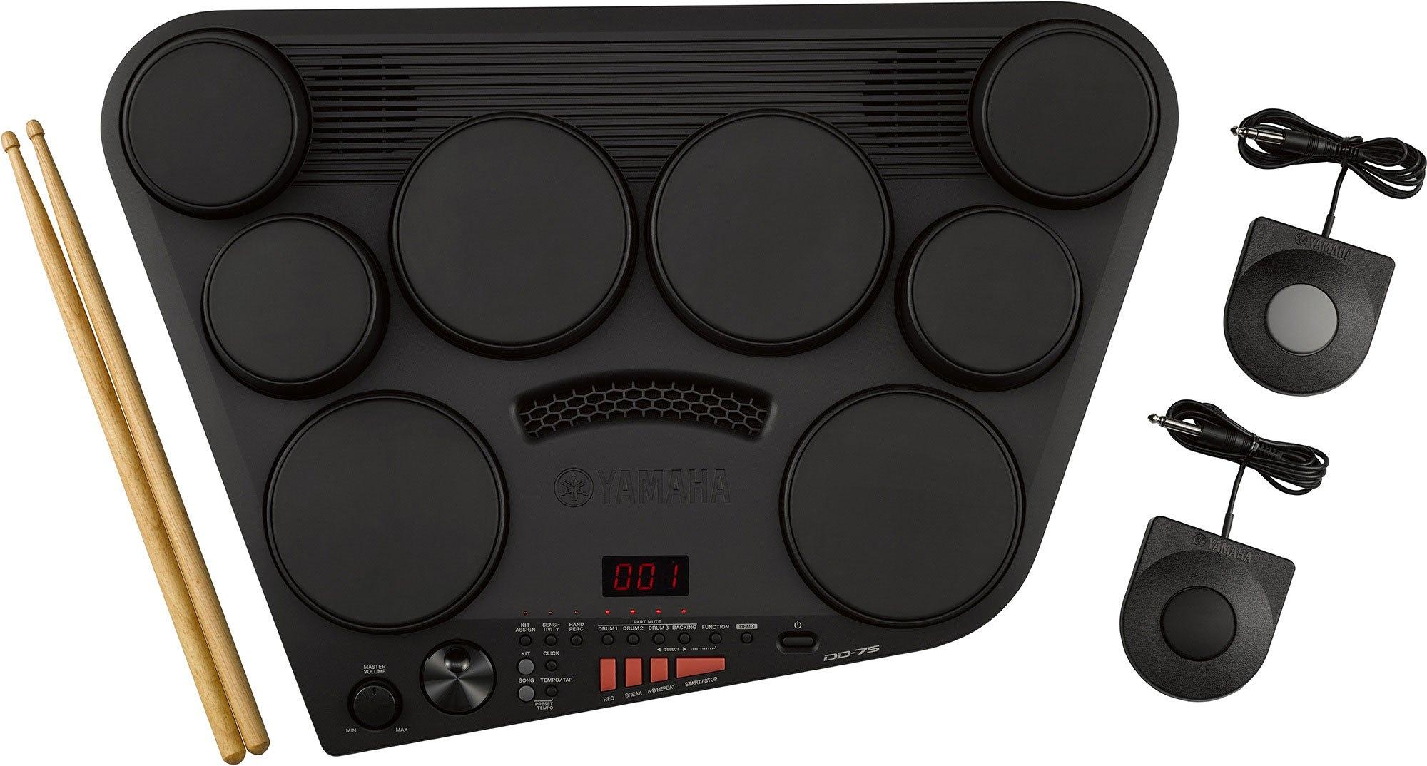 Yamaha DD75 8-PAD Portable Digital Electronic Drum Set