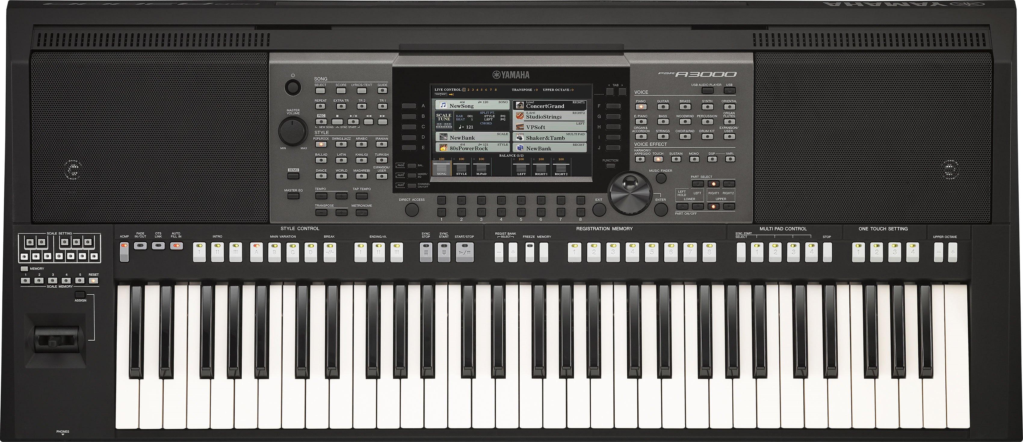 PSR-A3000 - Voice & Style Expansion - Digital and Arranger
