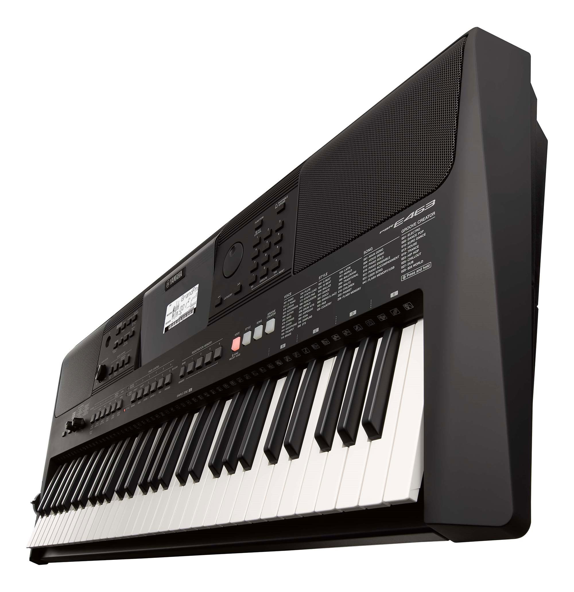 PSR-E463 - Downloads - Portable Keyboards - Keyboard