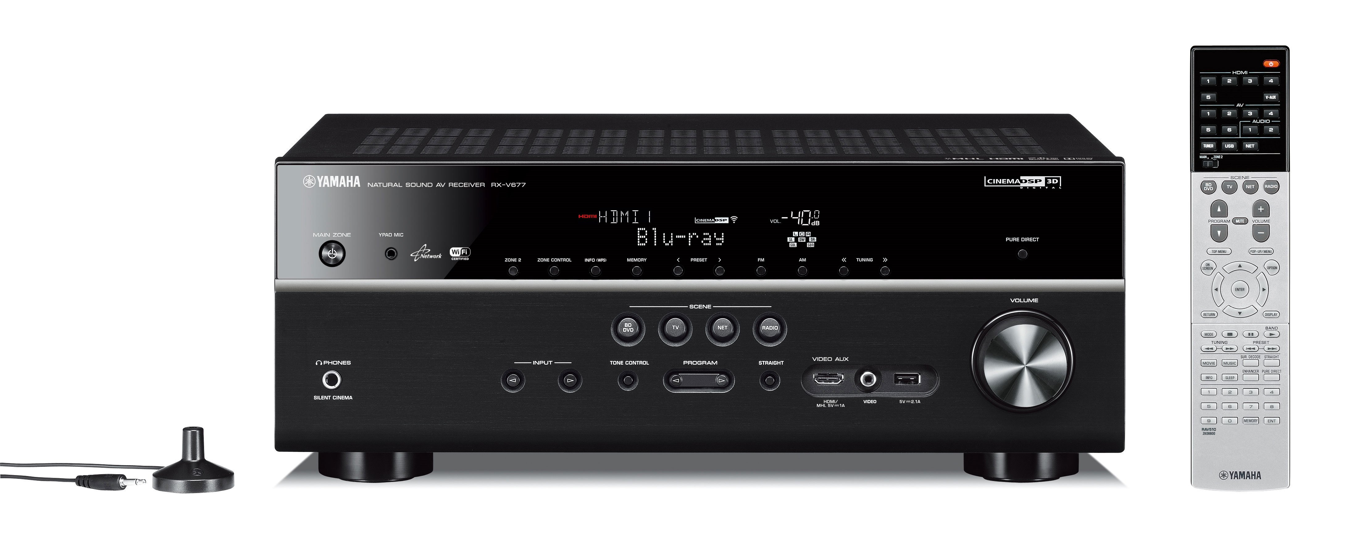 RX-V677 - Features - AV Receivers - Audio & Visual - Products
