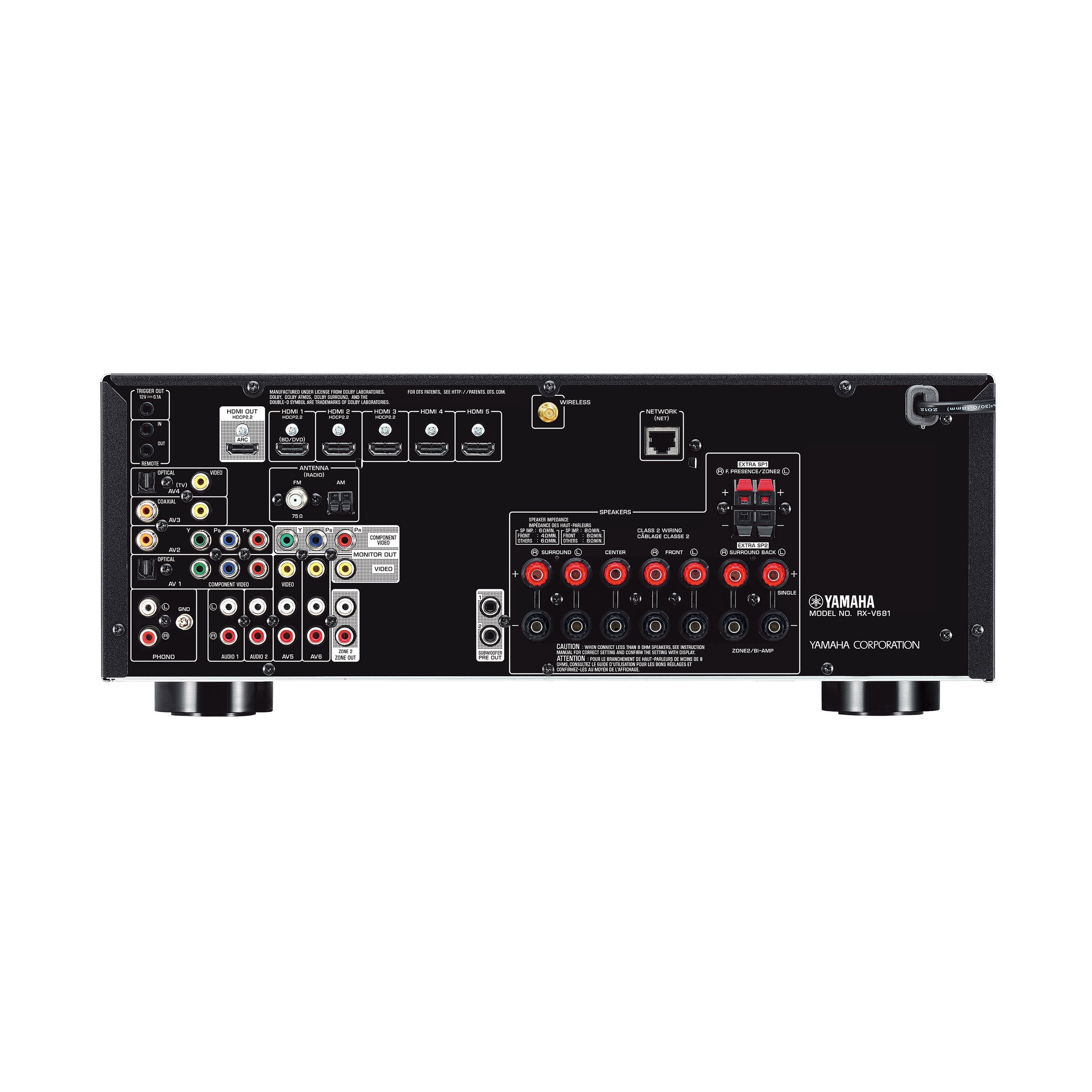 Rx V681 Features Av Receivers Audio Visual Products Kenwood Stereo Wiring Diagram For Surround Sound Previous