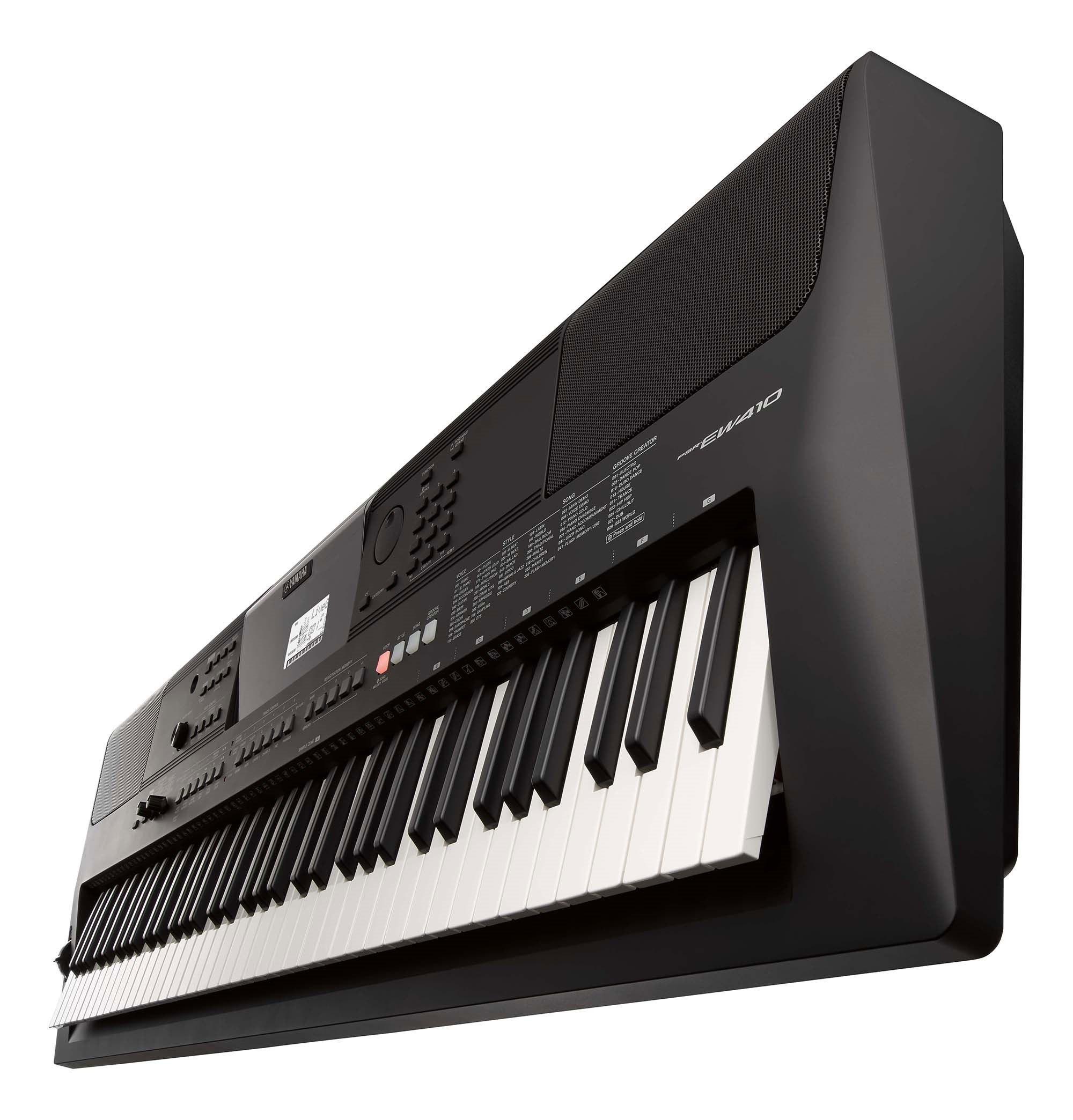 PSR-EW410 - Downloads - Portable Keyboards - Keyboard