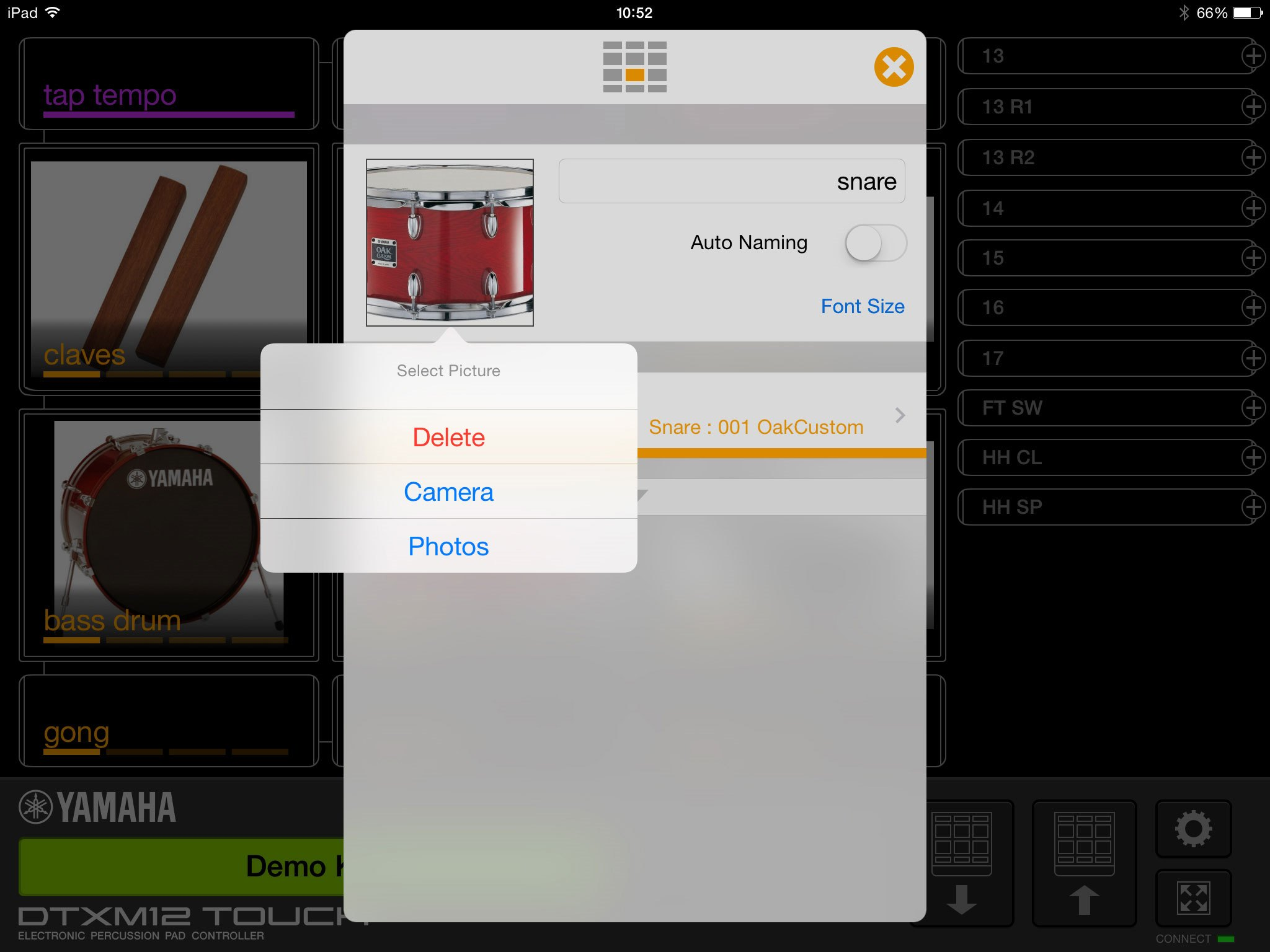 Dtx Multi 12 Touch Overview Apps Electronic Drums