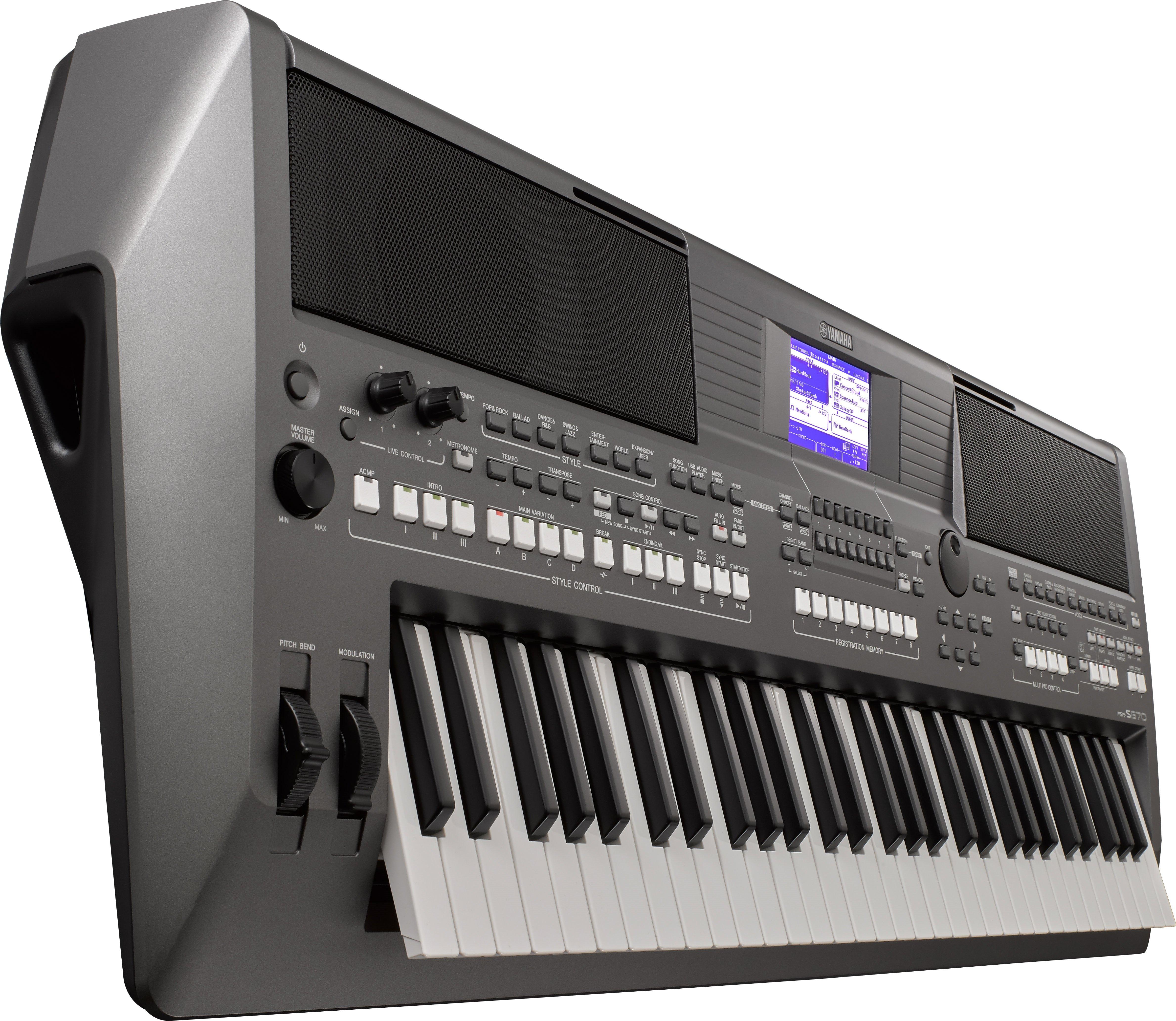 PSR-S670 - Voice & Style Expansion - Digital and Arranger