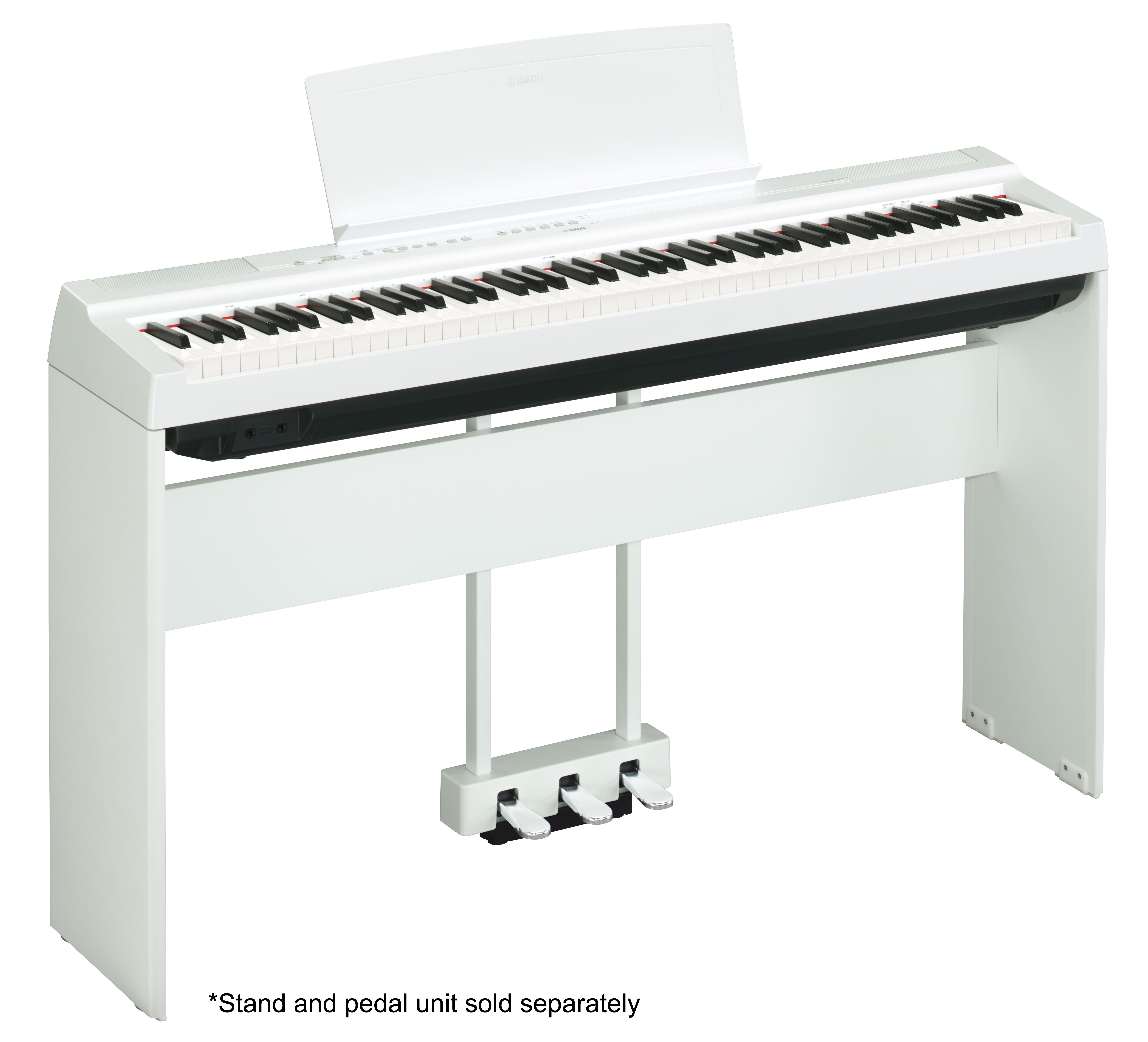 P-125 - Overview - P-Series - Pianos - Musical Instruments ... on shaker home design, triangle home design, storm proof home design, classical home design, 80s home design,