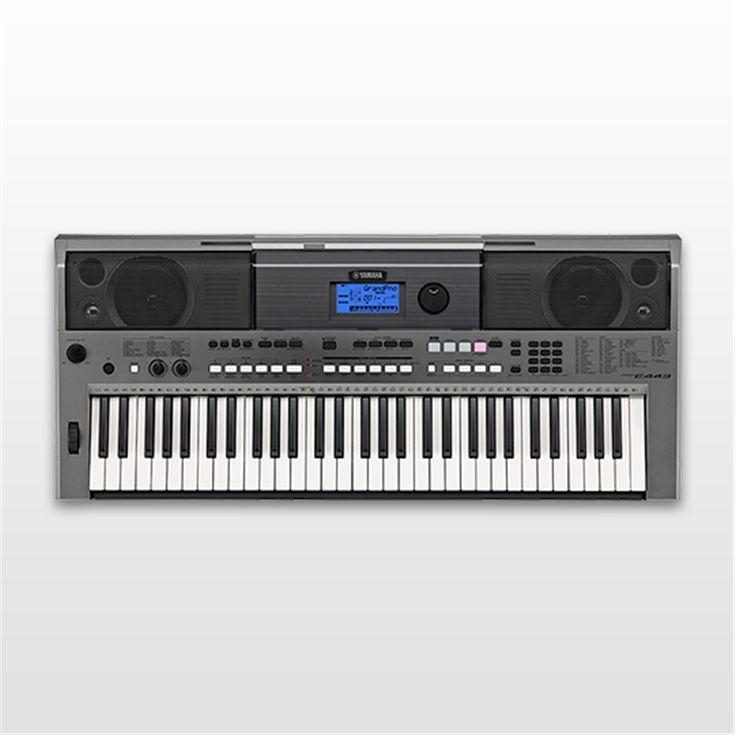 PSR-E443 - Downloads - Portable Keyboards - Keyboard Instruments
