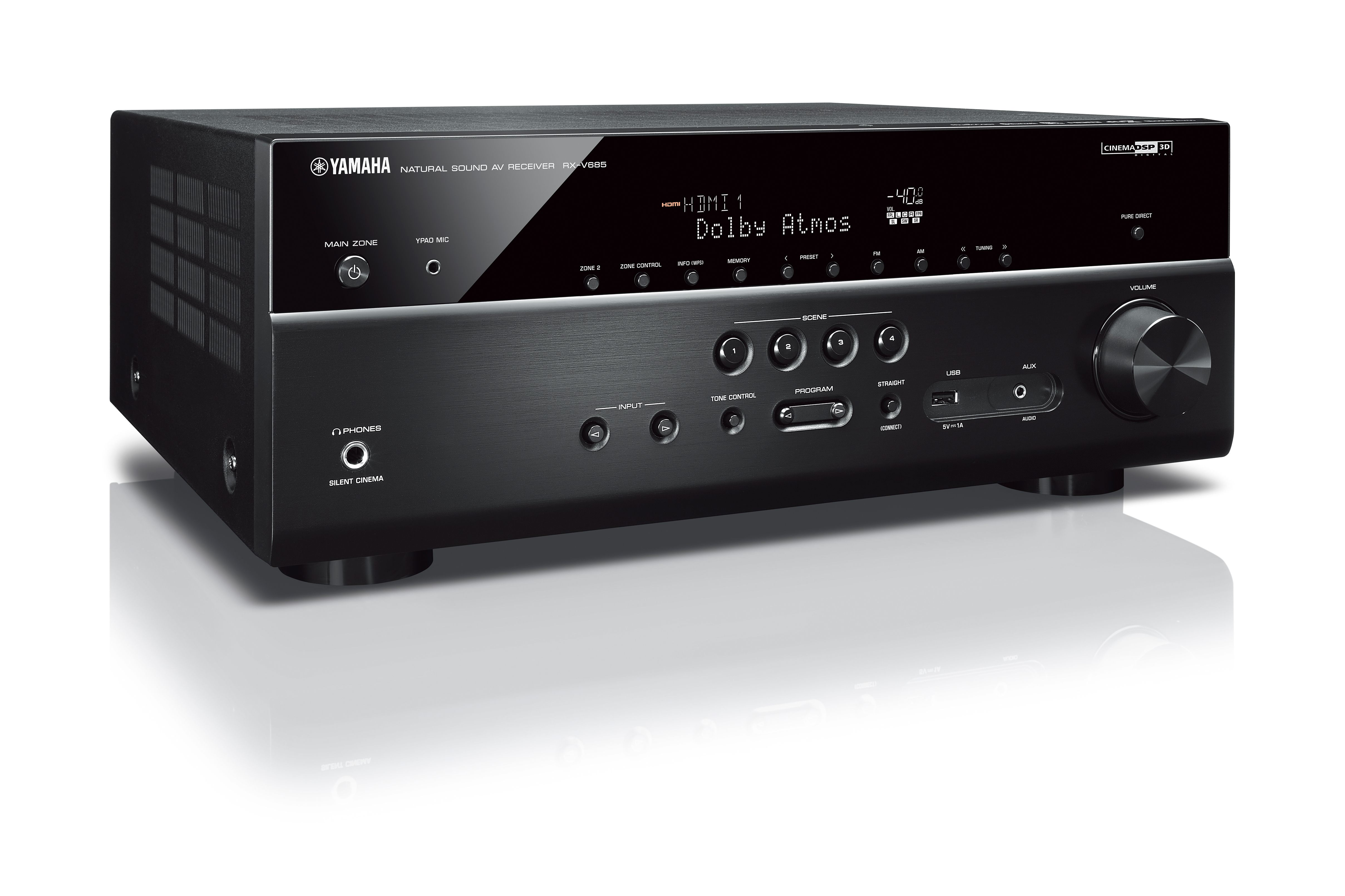 RX-V685 - Support - AV Receivers - Audio & Visual - Products