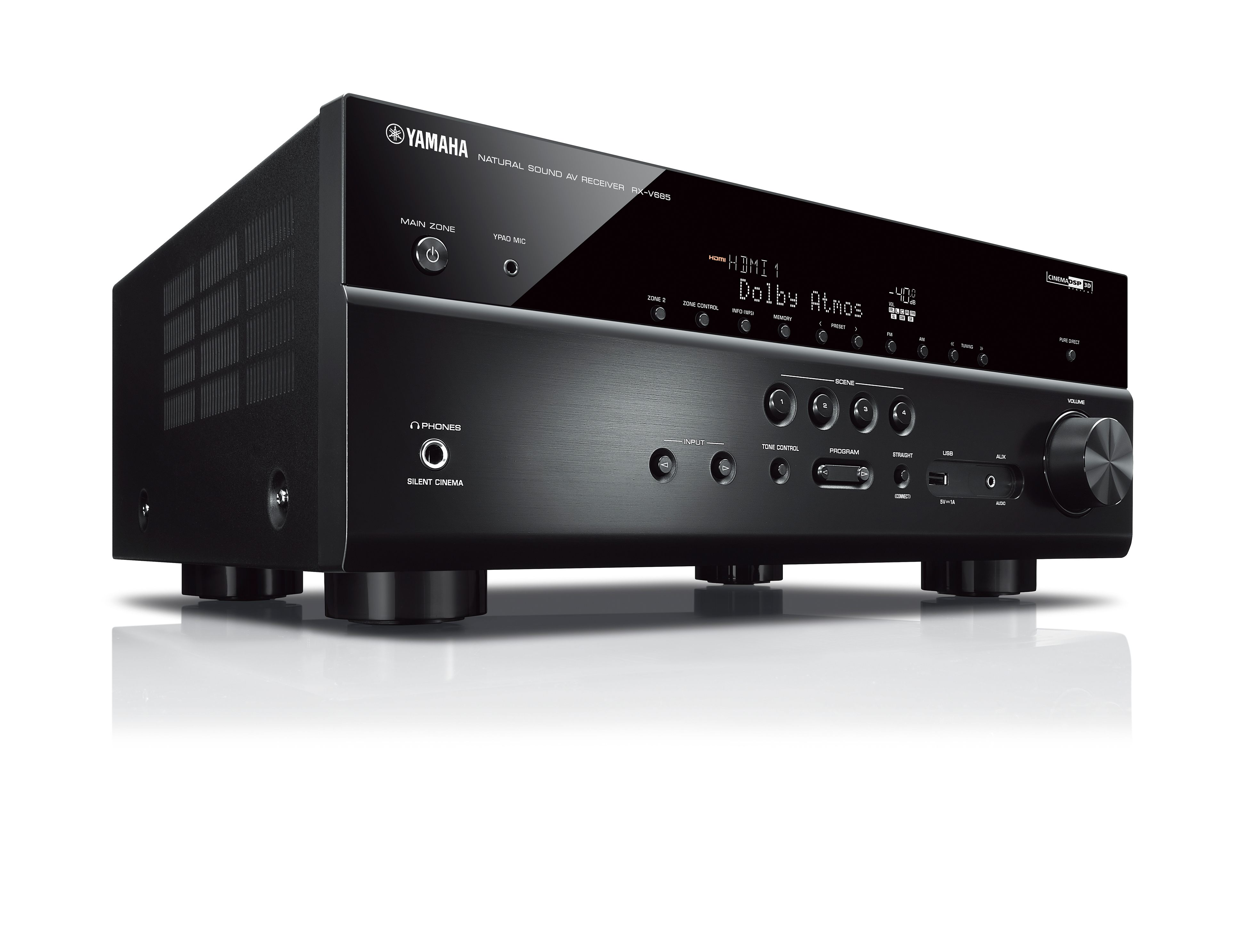 RX-V685 - Overview - AV Receivers - Audio & Visual - Products ...