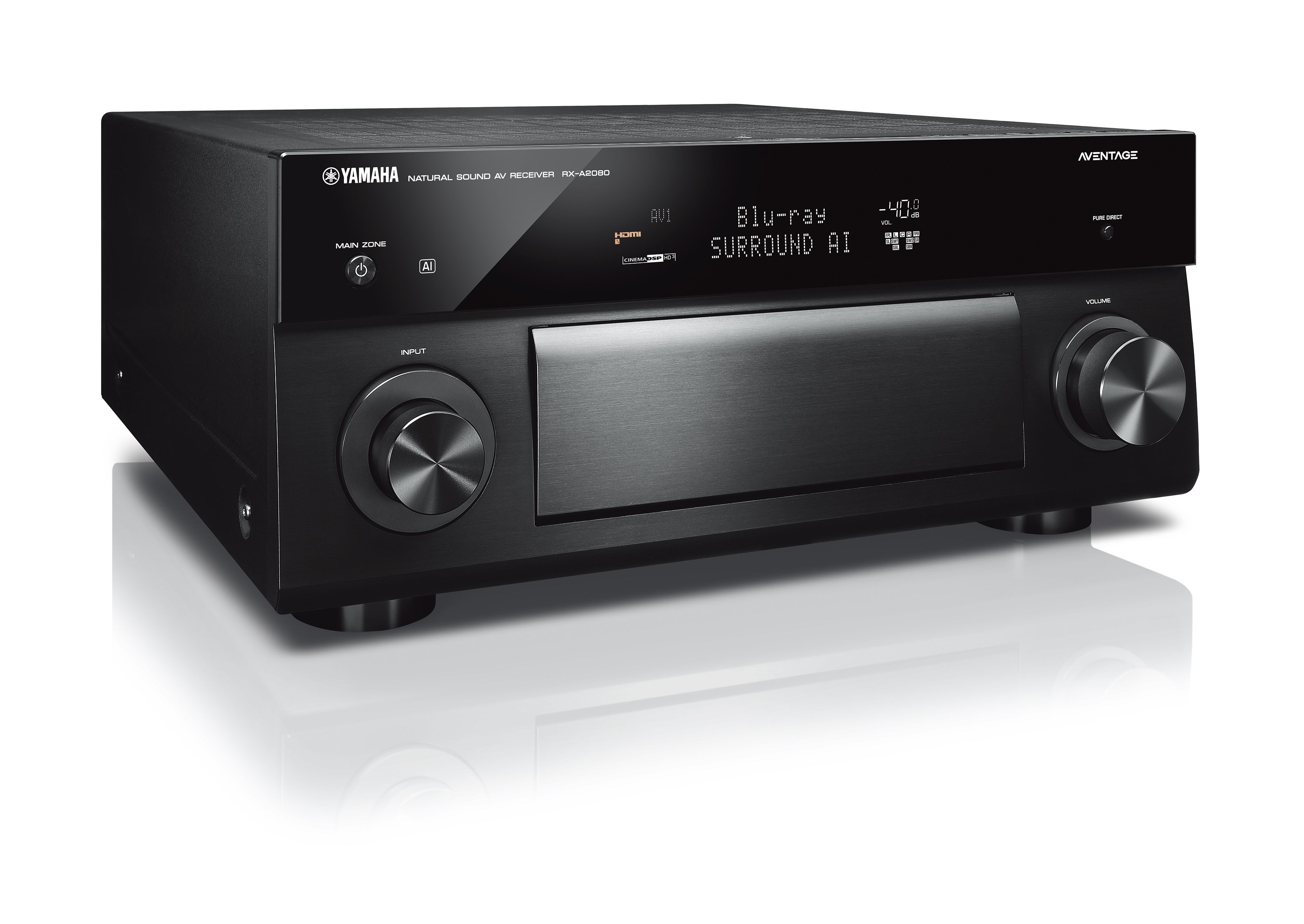 Rx A2080 Up Yamaha Speakers Home Theater On Car Audio Lifier Wiring Diagrams Aventage 92 Channel Av Receiver With Musiccast