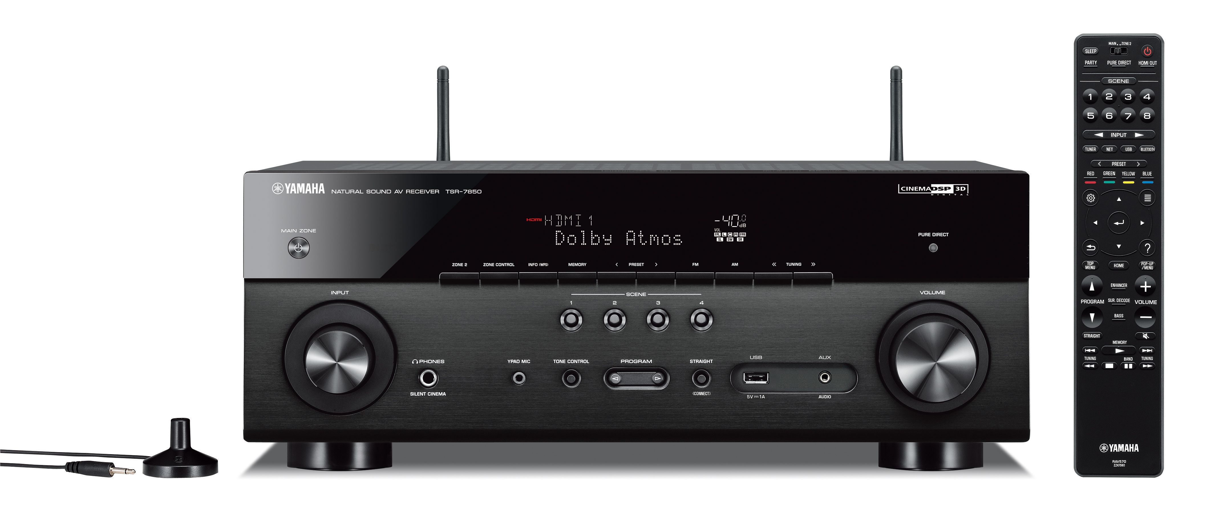 TSR-7850 - Overview - AV Receivers - Audio & Visual