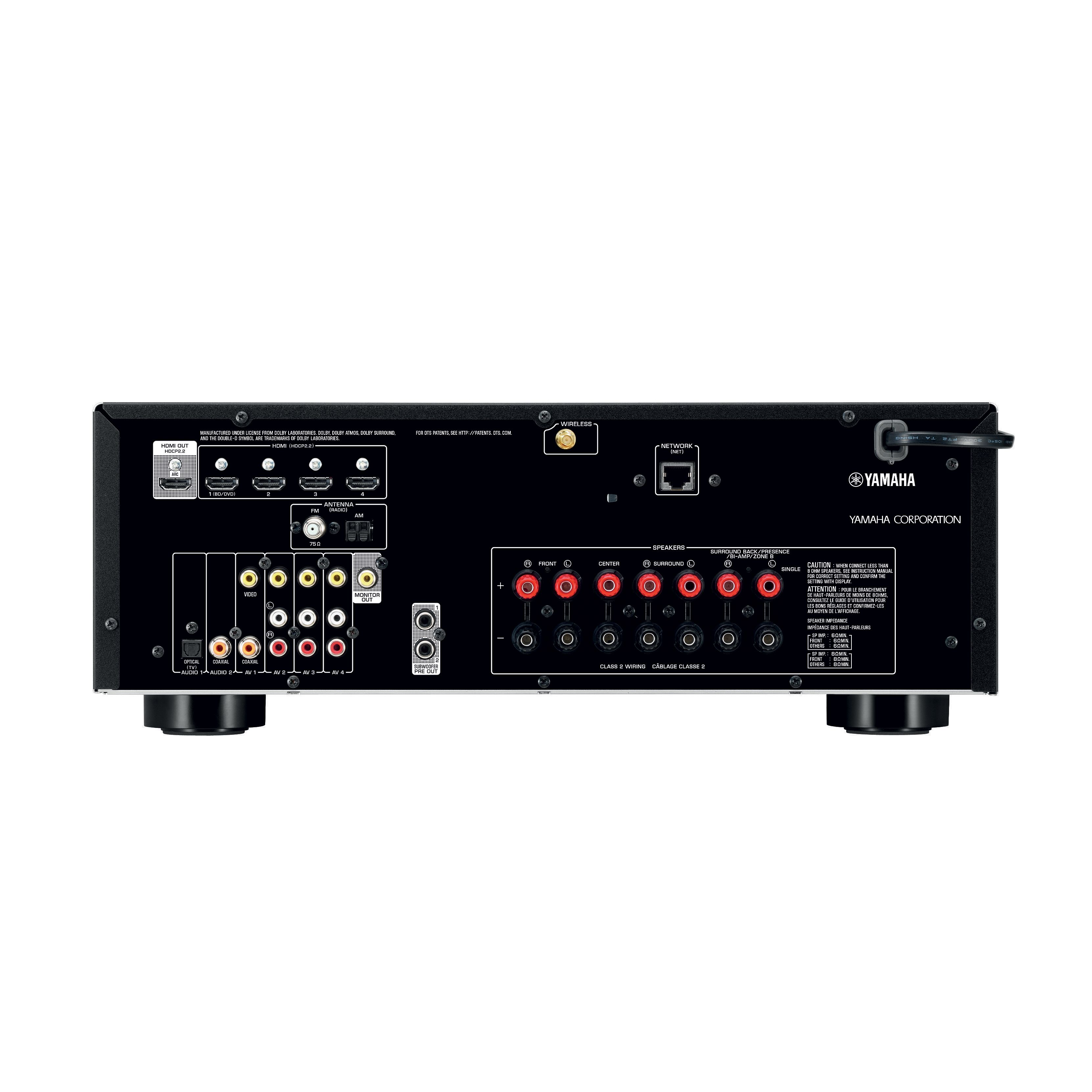 TSR-5810 - Downloads - AV Receivers - Audio & Visual - Products