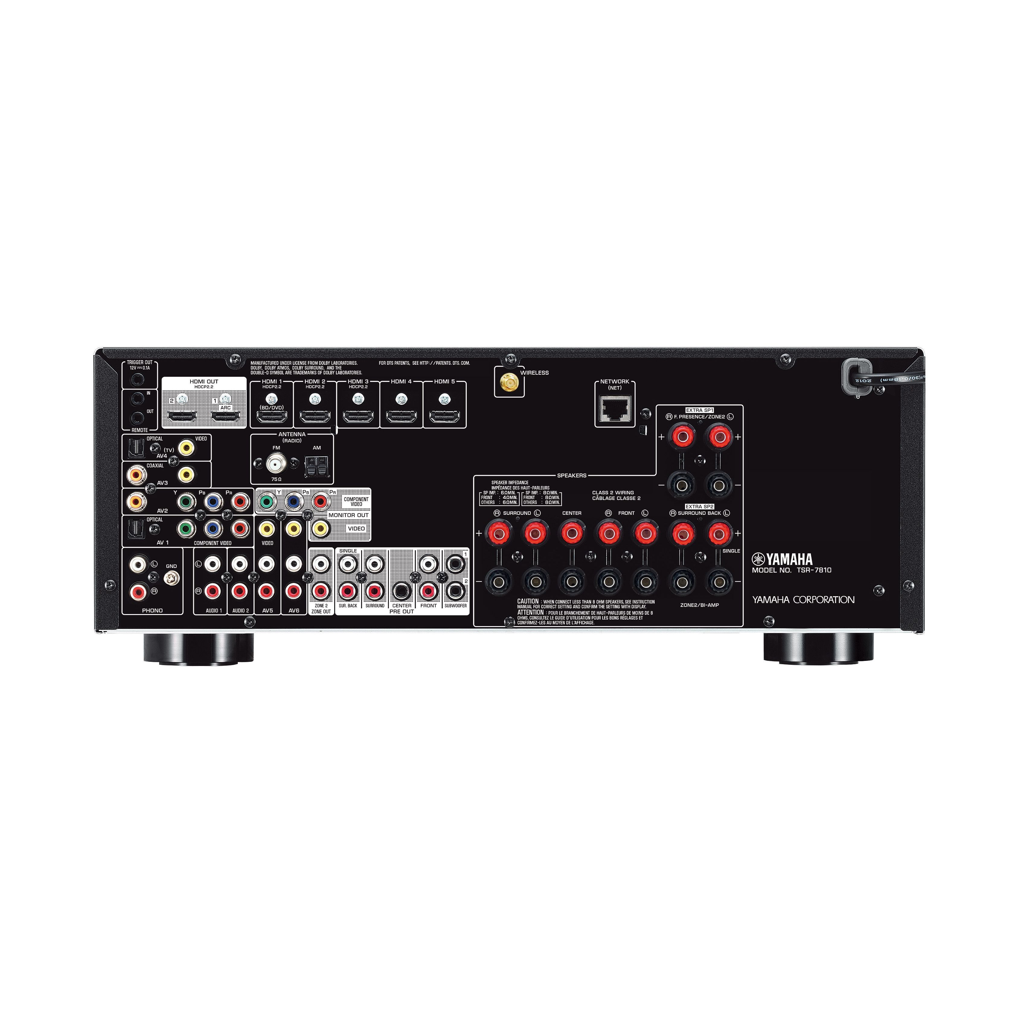 TSR-7810 - Features - AV Receivers - Audio & Visual - Products