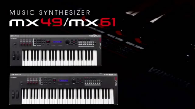 Yamaha Music Synthesizer MX49/MX61 Intro Movie
