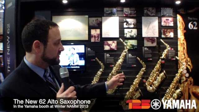 The New 62 Alto Sax at NAMM 2013