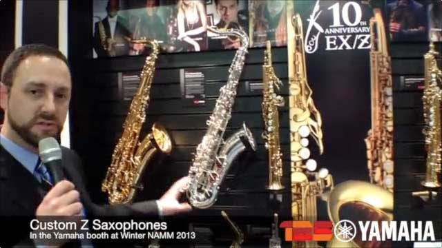 New 82Z Saxophones at NAMM 2013