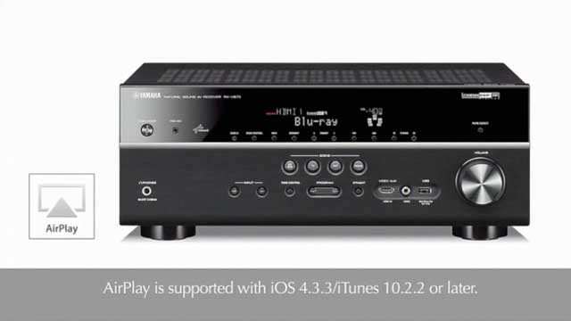 Receiver Feature Video - AirPlay®