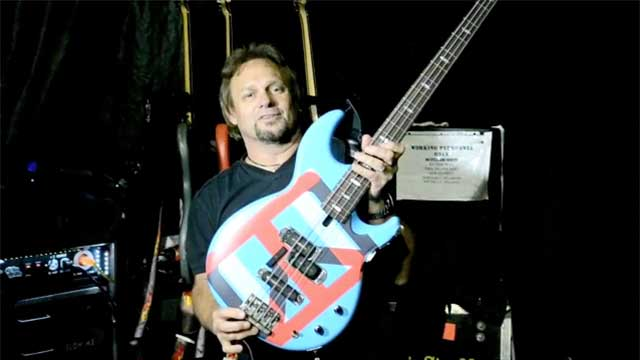 Michael Anthony - Yamaha BB Bass Guitars