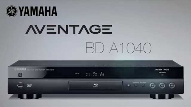 BD-A1040 Overview