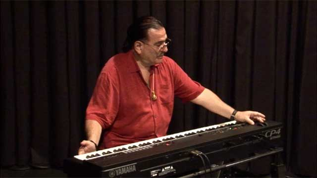 David Garfield and the CP4 Stage Piano