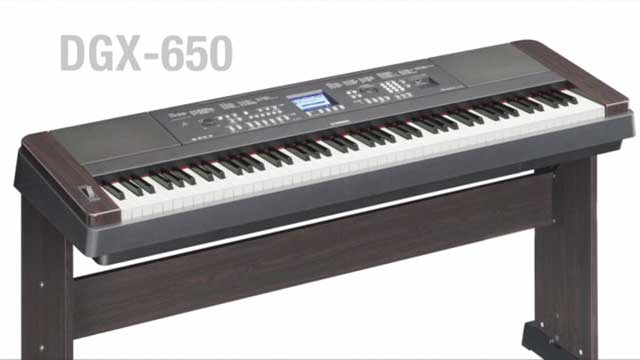 DGX-650 Digital Piano Product Overview Video