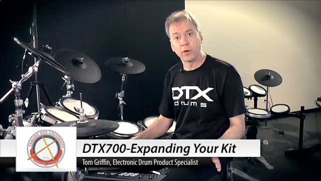 DTX-700 Expanding Your Kit Video