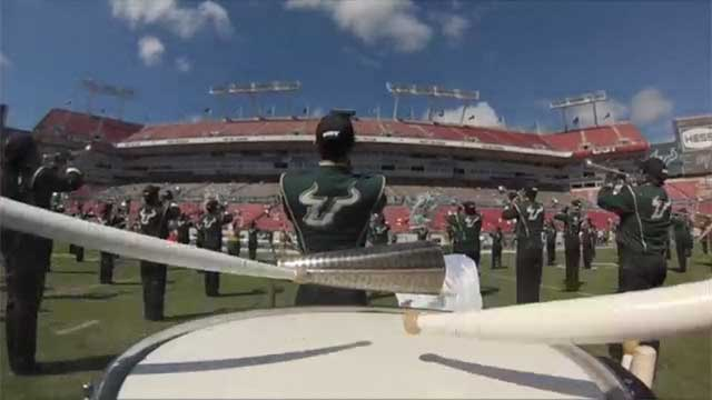 DrumCams 2013: University of South Florida