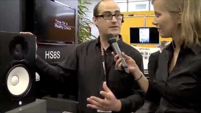 New HS Series Speakers - Yamaha Musikmesse 2013