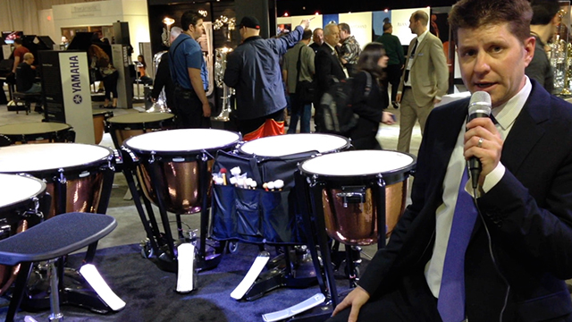 New Marching Percussion and Timpani