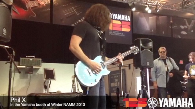 Yamaha Guitar Artist Phil X demos the THR