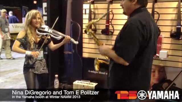 NAMM 2013 Video - Nina DiGregorio and Tom E Politzer