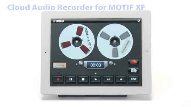 Cloud Audio Recorder for MOTIF XF App