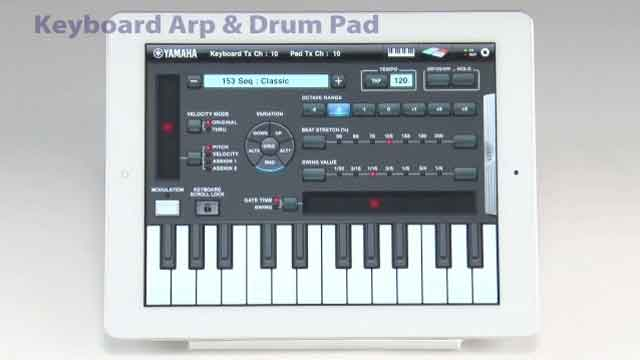 Keyboard Arp and Drum Pad App