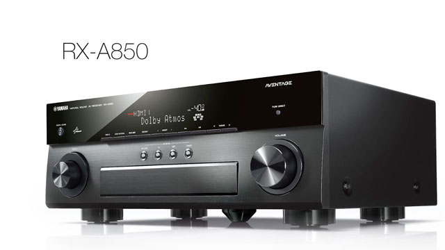 AVENTAGE RX-A850 with MusicCast