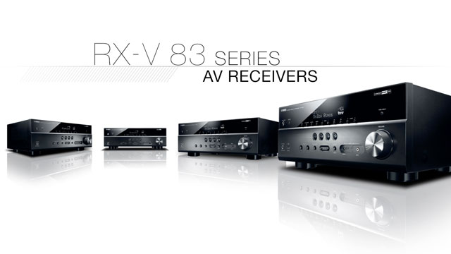 RX-V 83 Series Overview