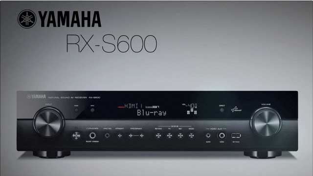 RX-S600 Slimline Receiver Overview Video