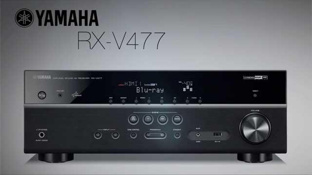 RX-V477 Overview