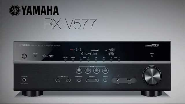 RX-V577 Overview