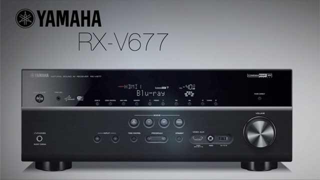 RX-V677 Overview