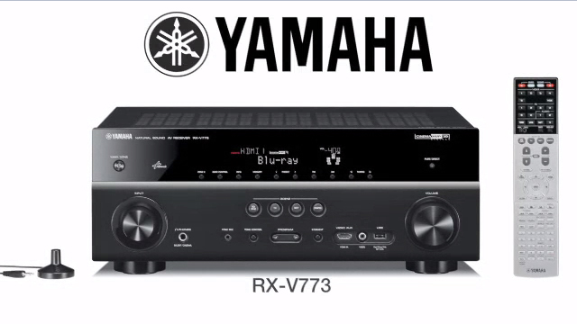 RX-V773WA Overview Video