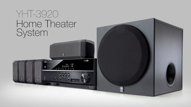 YHT-3920 Home Theater System