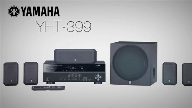 YHT-399 Home Theater System Overview Video