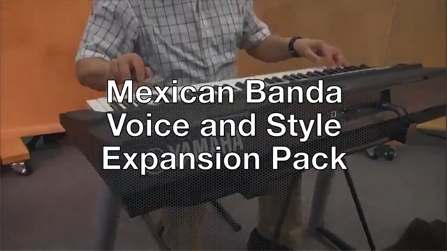 "Presentation of ""Mexican Banda"" Expansion Pack on PSR-S650"