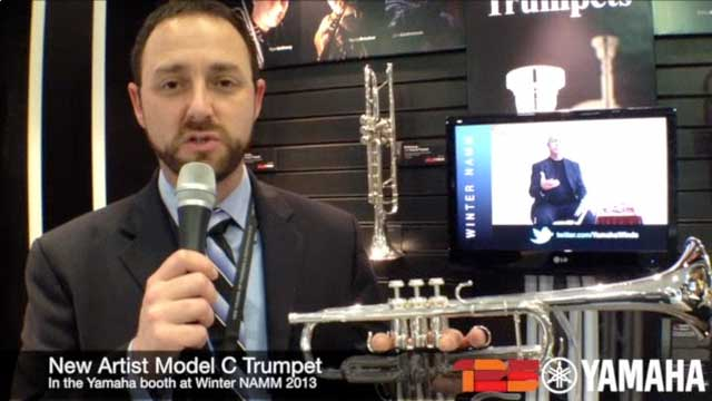 New Artist C Trumpet at NAMM 2013