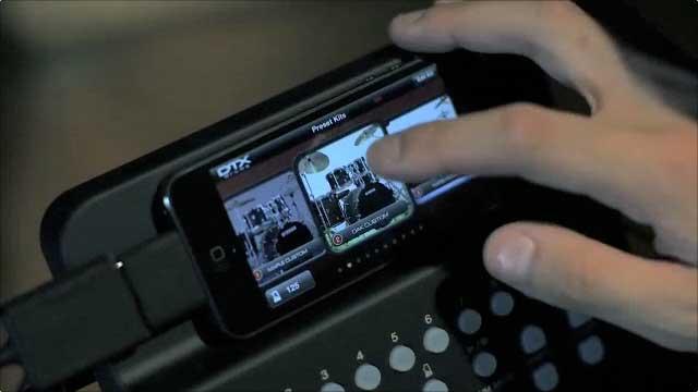 DTX400 Touch : Yamaha iOS App
