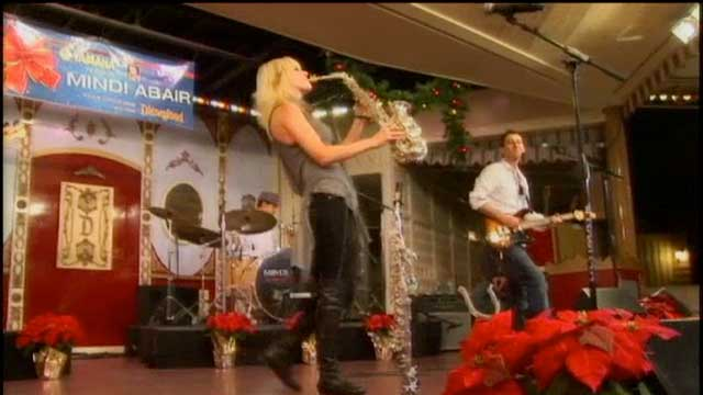 Video: Mindi Abair Live at Disneyland, Part 2
