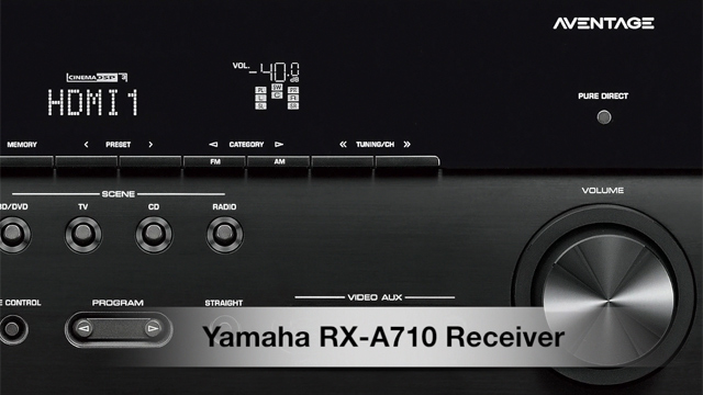 RX-A710 Overview Video