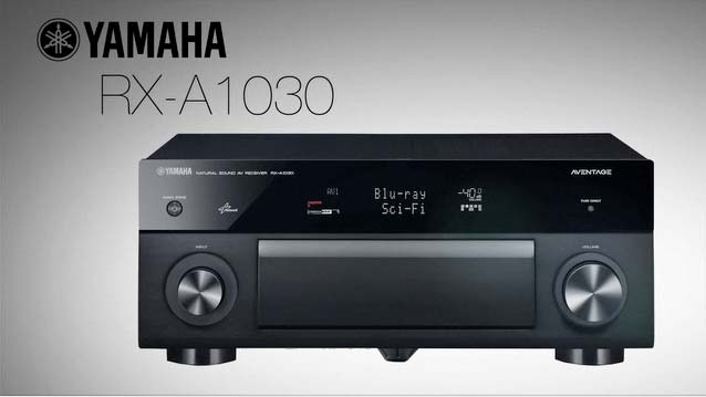 RX-A1030 AVENTAGE AV Receiver Overview Video