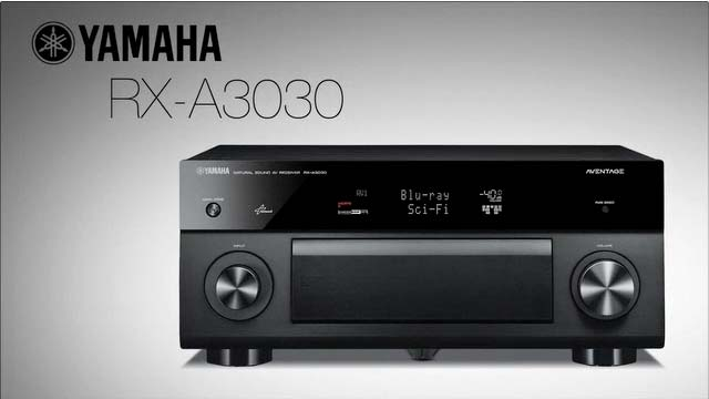 RX-A3030 AVENTAGE AV Receiver Overview Video